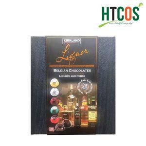 Kẹo Socola Nhân Rượu Kirkland Signature Liquor Belgian Chocolates 75 Viên Mỹ