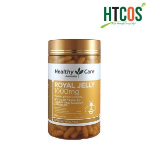 Viên Sữa Ong Chúa Heathly Care Royal Jelly 1000mg 365V Úc