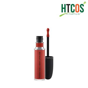 Son MAC Powder Kiss Liquid Lipcolour 991 Devoted To Chili 5ml Mỹ
