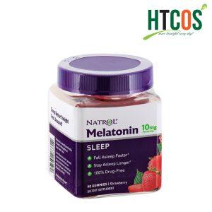 Kẹo Dẻo Ngủ Ngon Natrol Gummies Melatonin 10mg
