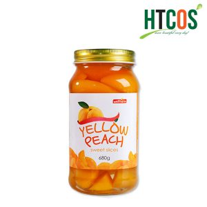 Đào Ngâm Wellheim Yellow Peach Sweet Slices 680gr
