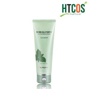 Sữa Rửa Mặt Dr.Pepti+ Bạc Hà Trà Xanh Herb Blending Cleansing Foam