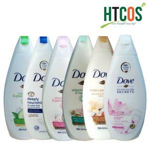 Sữa Tắm Dove 500ml Đức