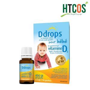 Thuốc Nhỏ Baby Ddrops Vitamin D3 400 IU