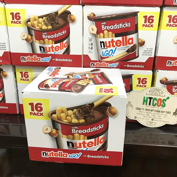 Bánh Que Chấm Bơ Nutella Hazelnut Spread With Breadsticks mua ở đâu