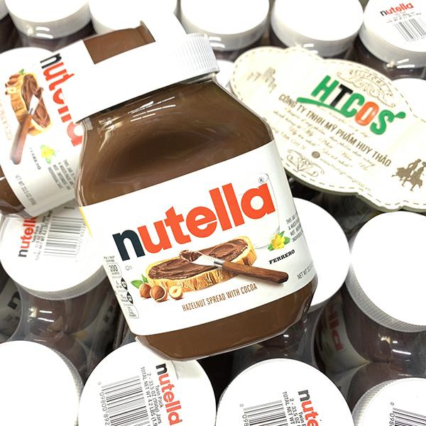 Bơ Hạt Phỉ Cacao Nutella Hazelnut Spread With Cocoa mua ở đâu