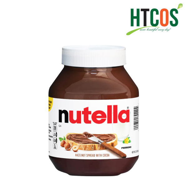 Bơ Hạt Phỉ Cacao Nutella Hazelnut Spread With Cocoa