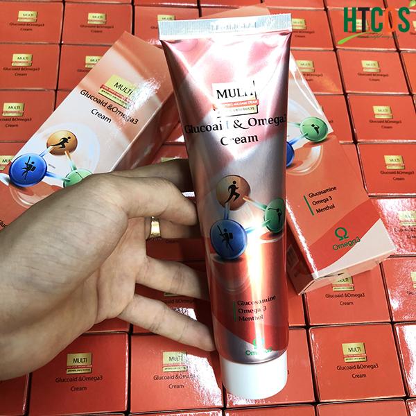 Dầu Lạnh Xoa Bóp Hàn Quốc Multi Glucoaid & Omega3 Cream giá bao nhiêu