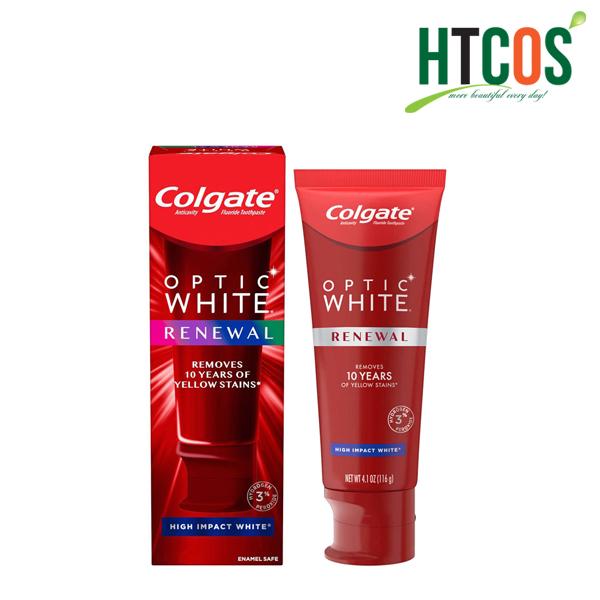 Kem Đánh Răng Colgate Optic White Renewal
