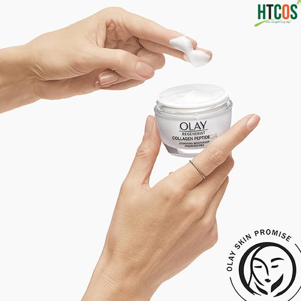 Kem Dưỡng Olay Regenerist Collagen Peptide 24 cách dùng