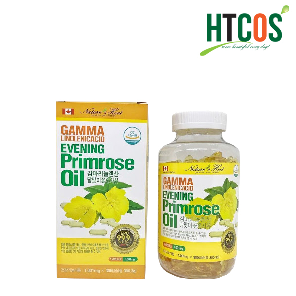 Tinh Dầu Hoa Anh Thảo Gamma Linolenic Acid Evening Primrose Oil