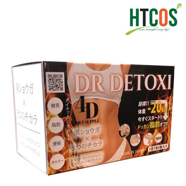 Viên Uống Giảm Cân Thải Độc DR Detoxi 4D