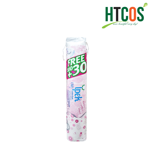 Bông Tẩy Trang Ipek 130 miếng