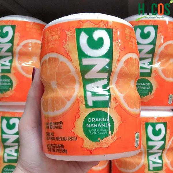 Bột Cam Tang Orange Naranja có ngọt không