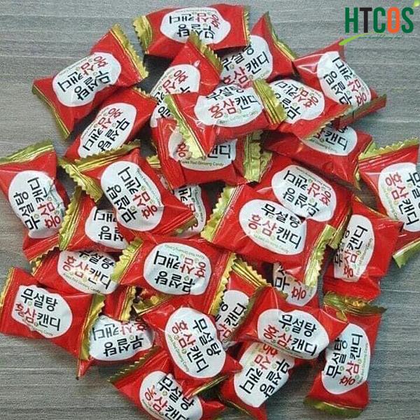 Kẹo Hồng Sâm Không Đường Korea Red Ginseng 365 Candy có tốt không