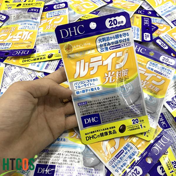 Viên Uống DHC Lutein Bổ Mắt Chống Ánh Sáng Xanh giá bao nhiêu