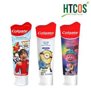 Kem Đánh Răng Colgate Cho Bé Fluoride Toothpaste 130gr Mỹ