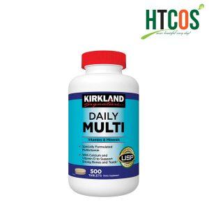 Viên Uống Bổ Sung Vitamin Tổng Hợp Kirkland Signature Daily Multi