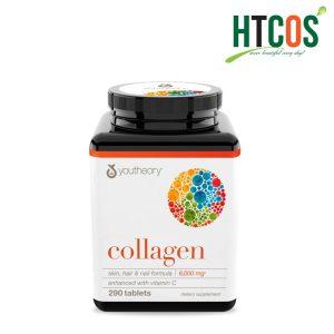 Viên Uống Collagen Youtheory Vitamin C 290 Viên Mỹ