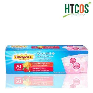 Bột Hòa Tan Vitamin C Emergen-C Immune Plus 70 Gói Mỹ