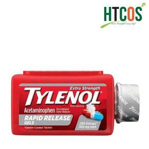 Viên Uống Giảm Đau Hạ Sốt Tylenol Acetaminophen Rapid Release Gels 500mg